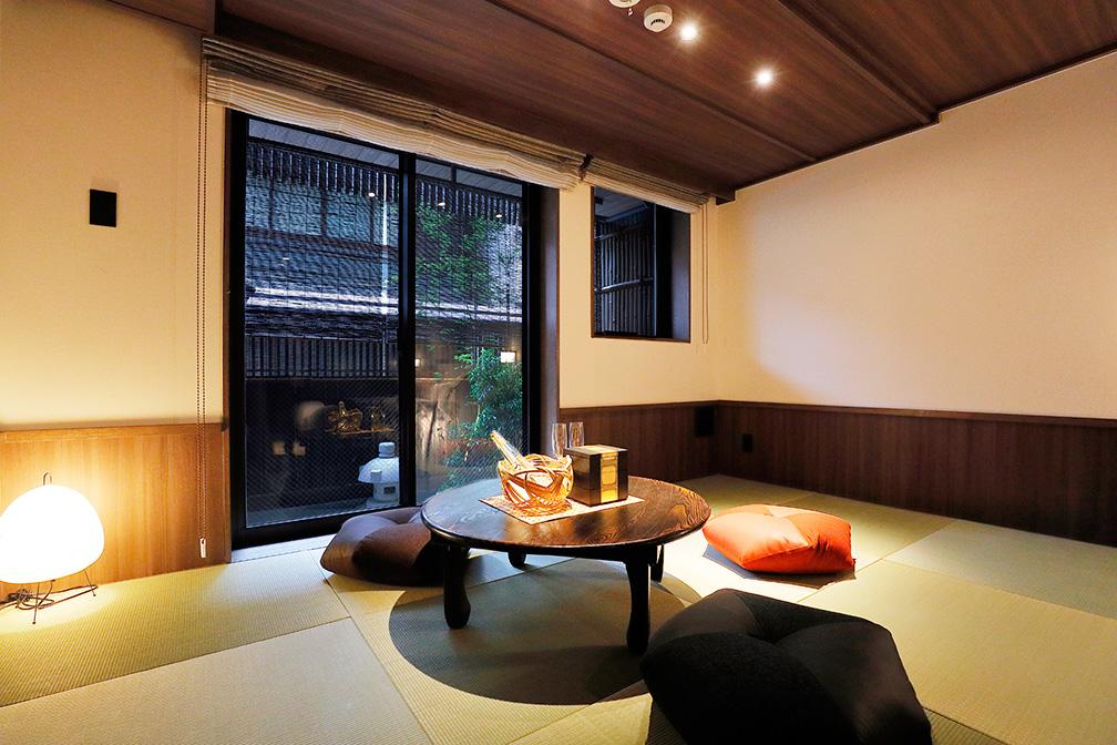 THE JUNEI HOTEL京都御所西にておじゃみセッティをお使い頂いております。