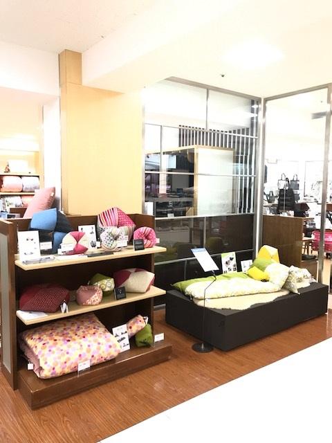 伊勢丹 浦和店 6階 寝具コーナー に 期間限定 で 出品中!