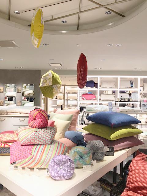 伊勢丹 新宿 店 5階 ベッドルーム 期間限定 フェアを開催中。