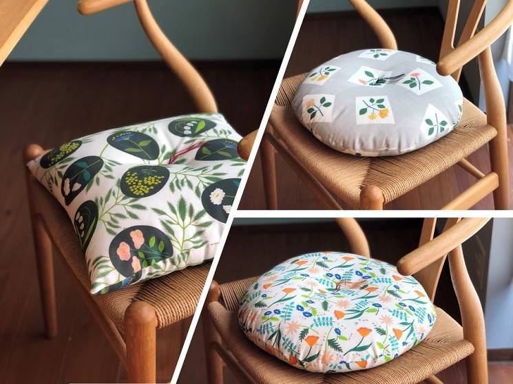 【座布団がきっとかわいくなる。京都のマイ座布団綿入れ体験。】