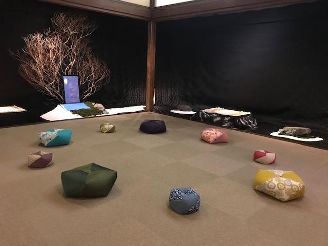 ホテル雅叙園東京「和のあかり×百段階段2019」に出展しております。
