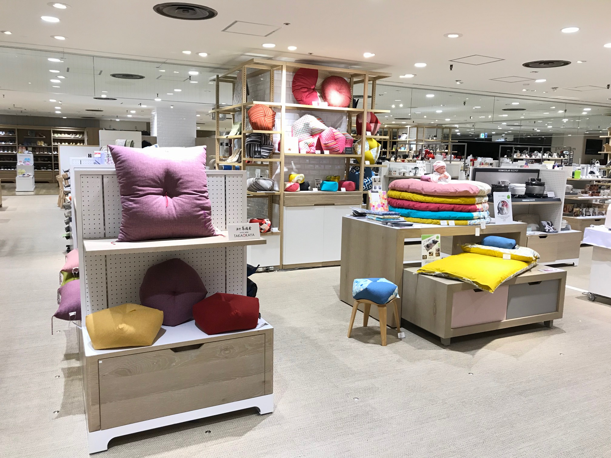東急 吉祥寺 店 6階 家庭用品 春のうたた寝フェア